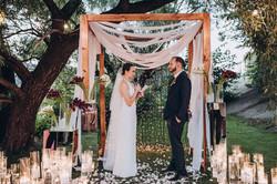 обмен клятвами, свадьба, трогательно