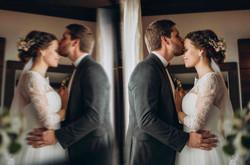 жених и невеста, собираются вместе