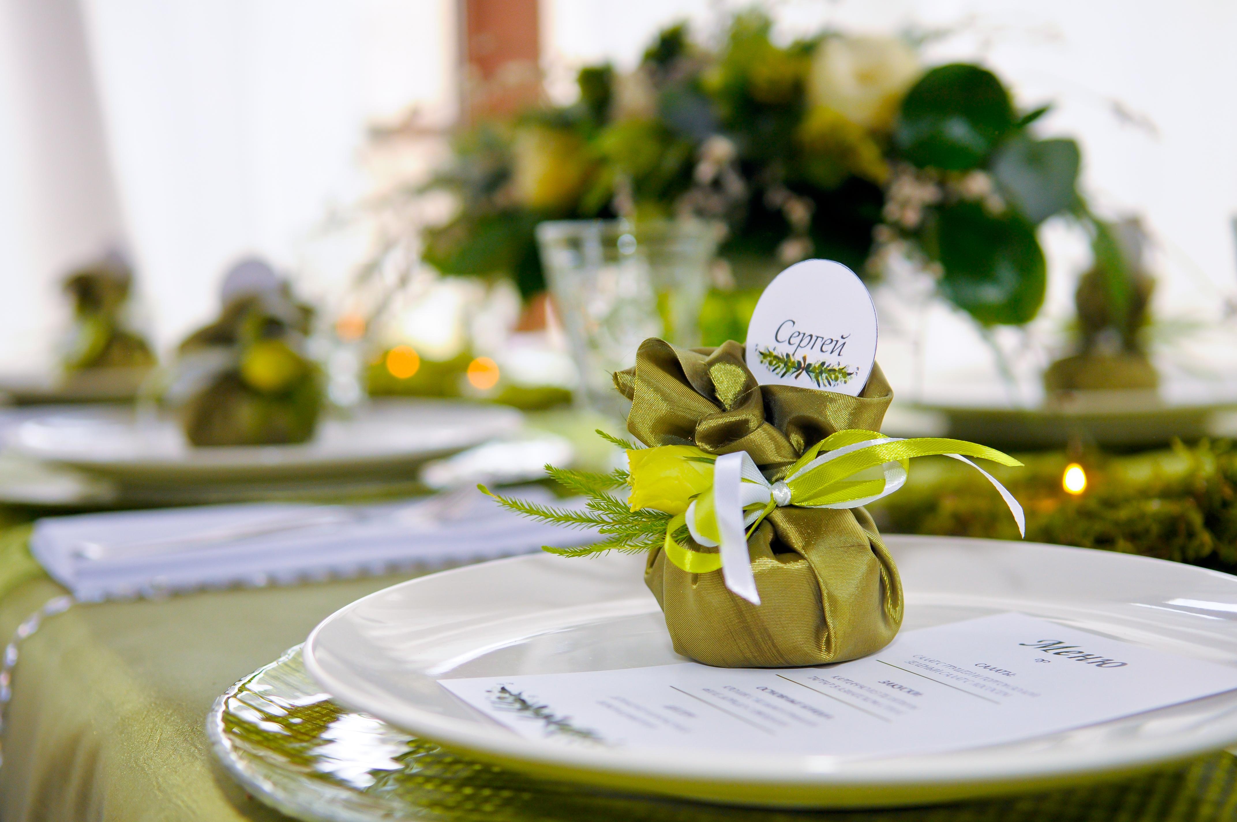 комплимент гостям, подарок, свадьба