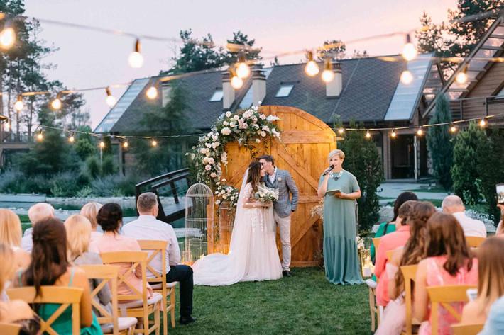Как организовать вечернюю свадебную церемонию