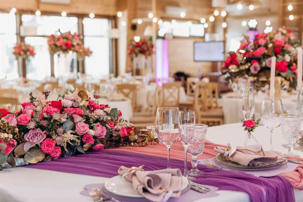 свадьба, свадебная флористика