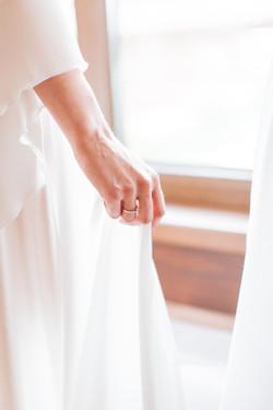 романтичный легкий образ невесты