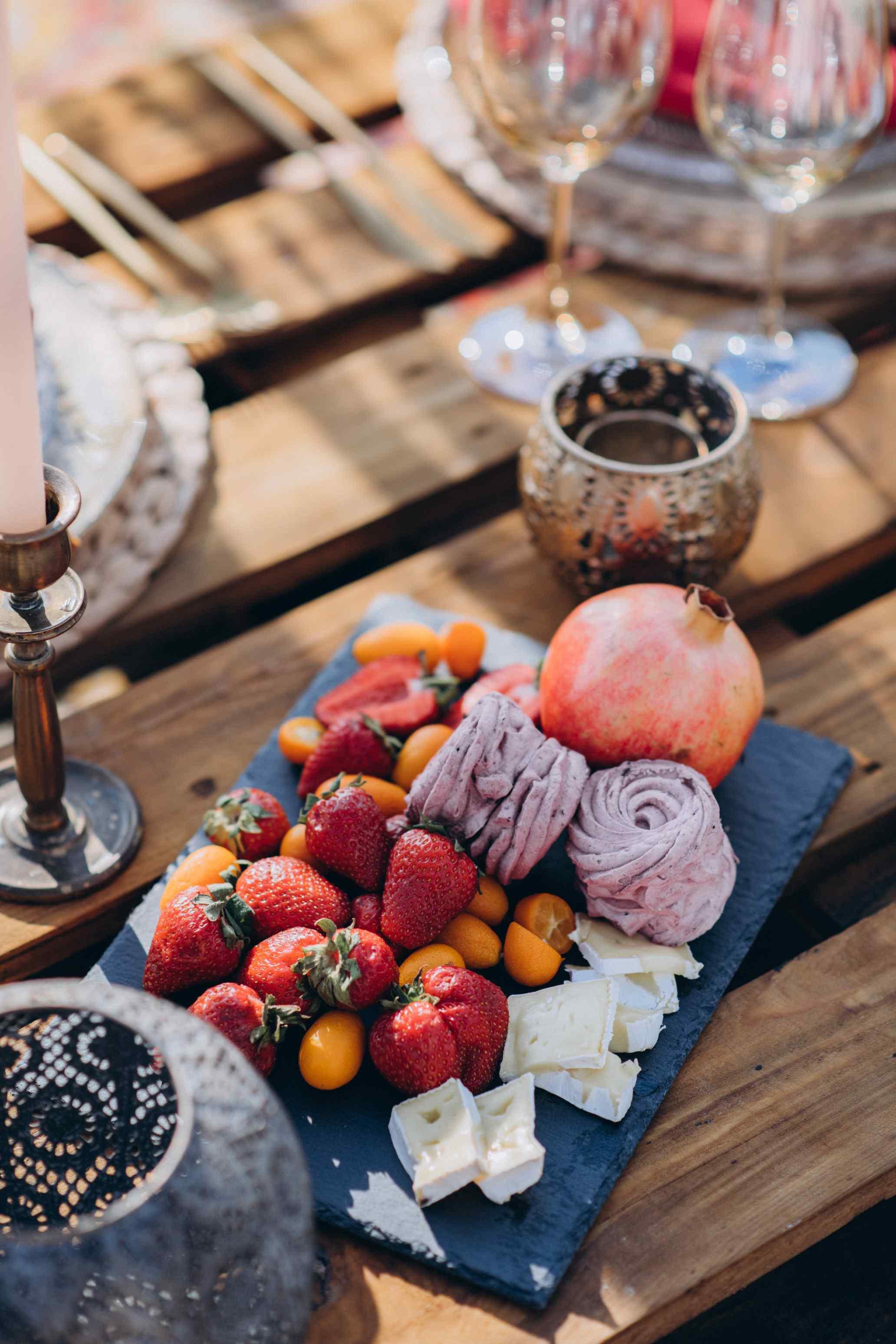 детали свадебной сервировки
