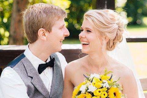 Светлая, жизнерадостная, искренняя пара - невеста Инна и жених Рудольф, координация свадьбы - свадебное агентство в Киеве - MuZa-wdding, организация особенных красивых эмоциональных свадеб в Киеве и Украине