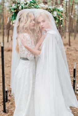 свадебная фотосессия образы ангелов