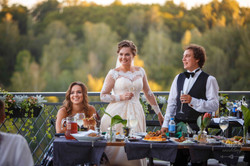 жениха и невеста президиум свадьба
