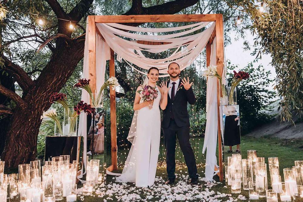 Декор вечерней церемонии - хупа. На что надо обратить внимание при планировании и подготовке своей свадьбы. Как правильно распределить бюджет.