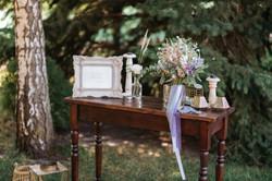 зона пожеланий на свадьбе, столик
