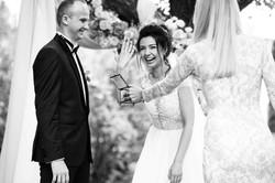 фото обмена кольцами на церемонии