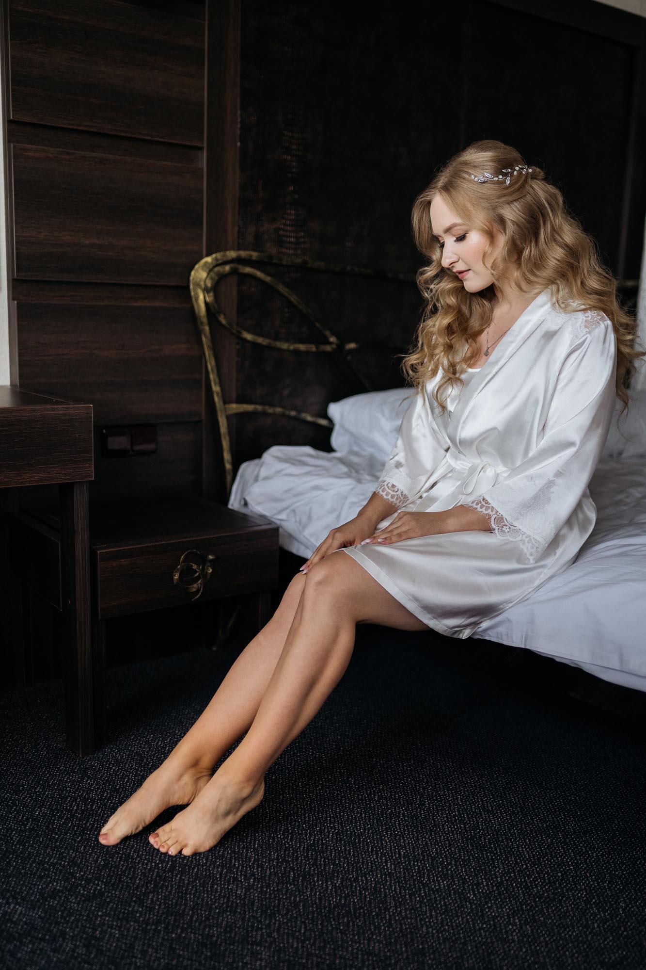 невеста Карина, свадебный образ