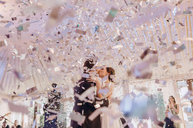 свадебный танец конфетти метафан