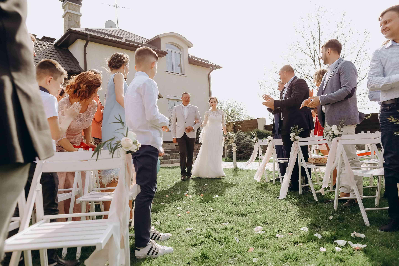 появление невесты на свадьбе