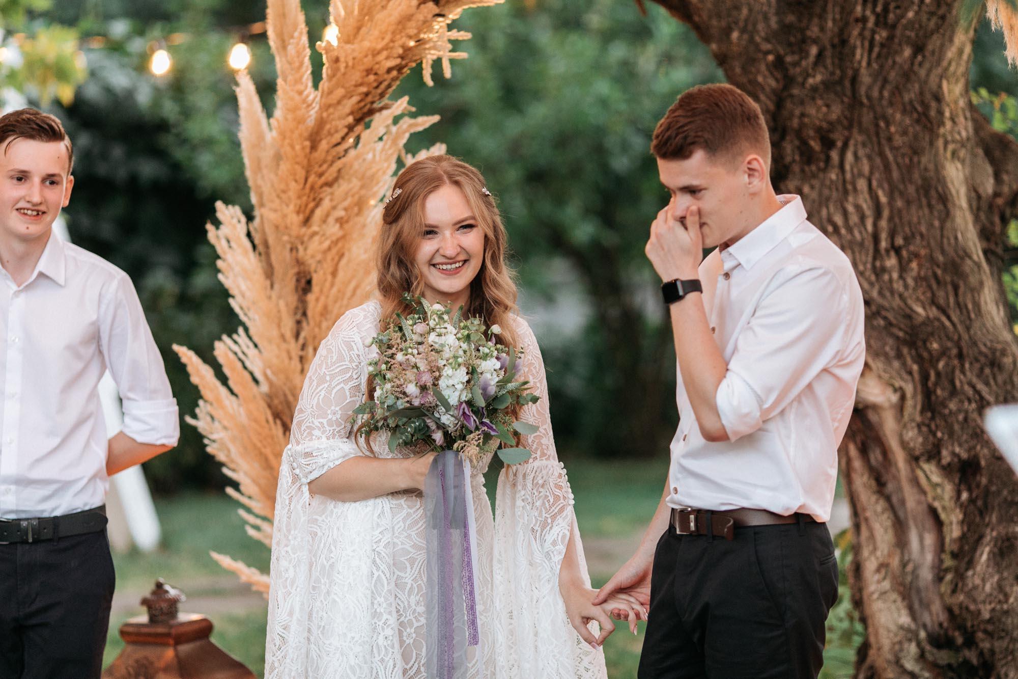 жених плачет на свадьбе эмоции