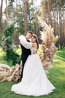Свадебная церемония в ресторане Шелест