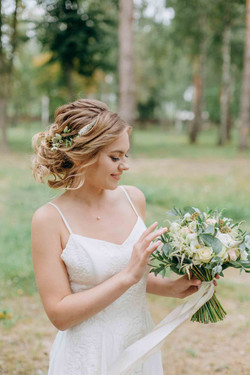 красивая невеста, образ невесты