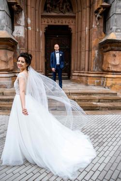 фото прогулка жених и невеста Киев