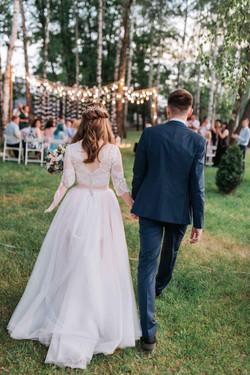 вечерняя (ночная) свадебная церемони