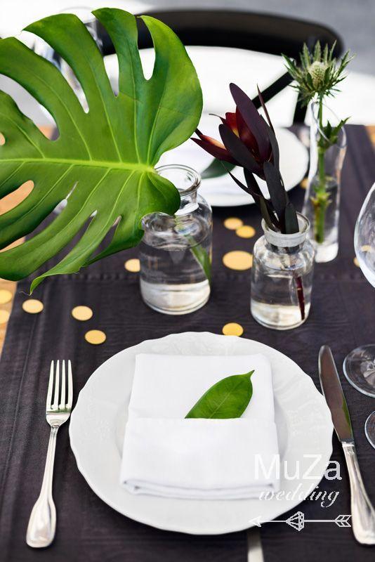 сервировка стола свадьба