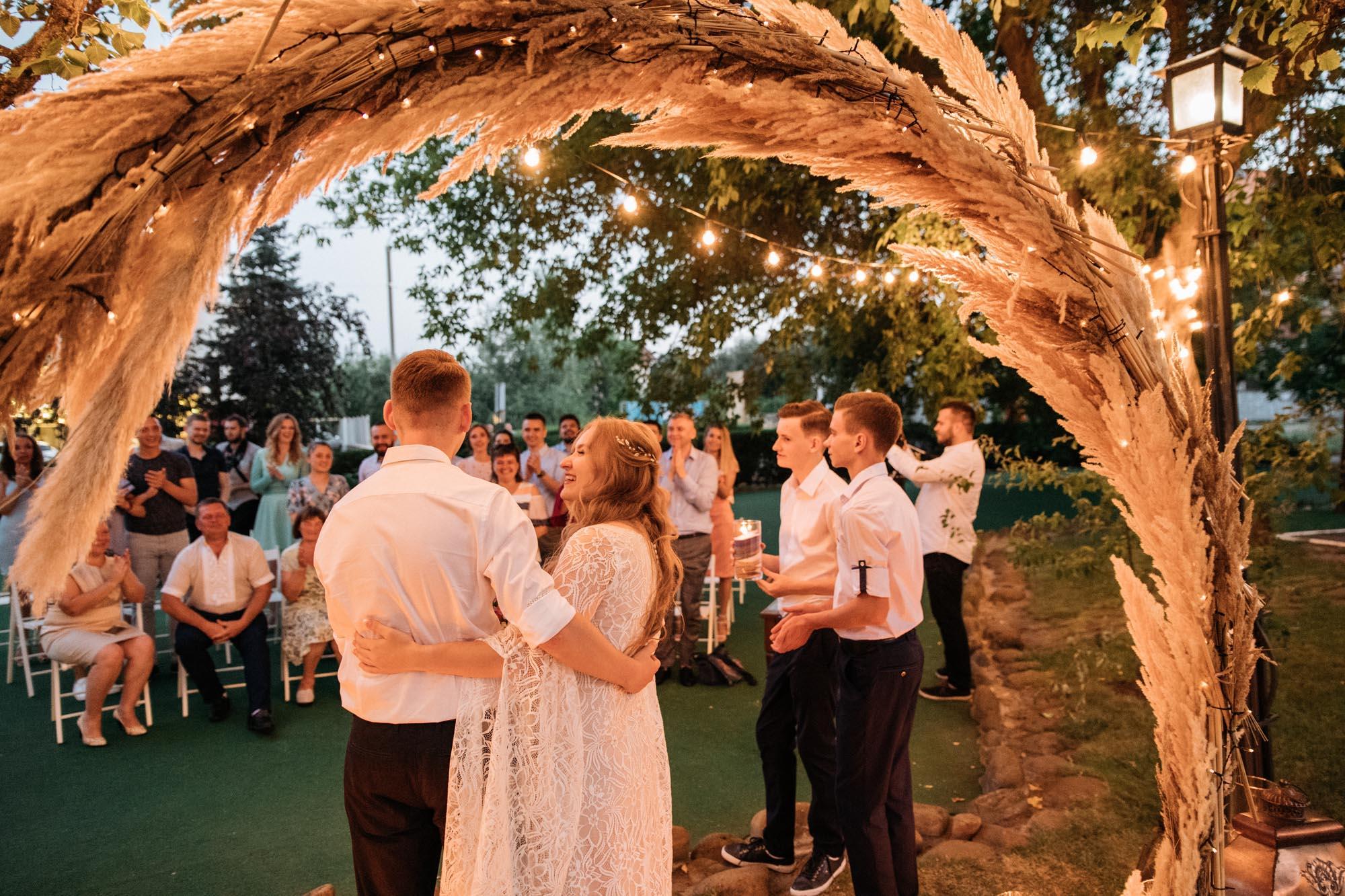 круглая арка свадьба Киев