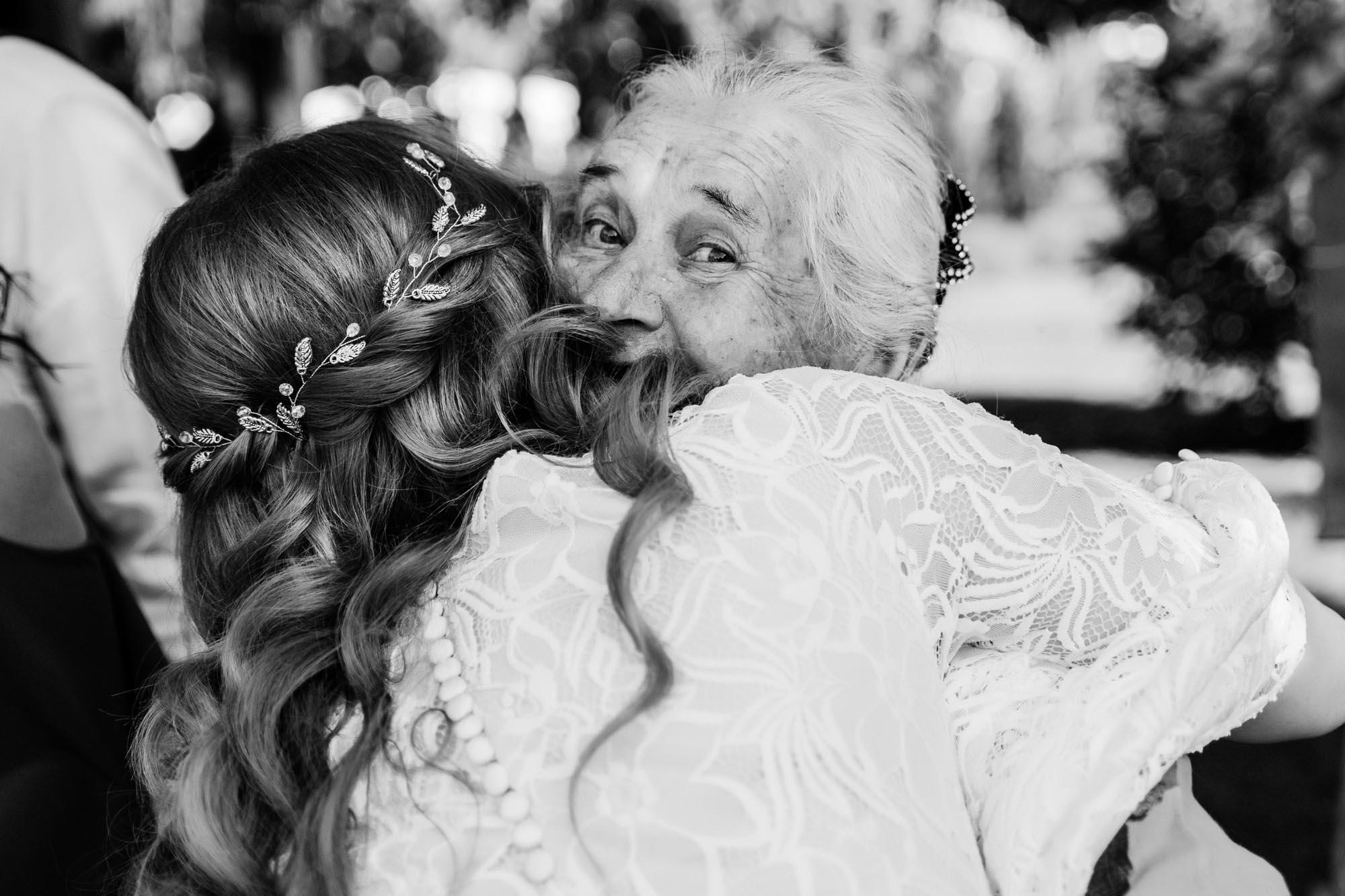 искренние эмоции гостей на свадьбе