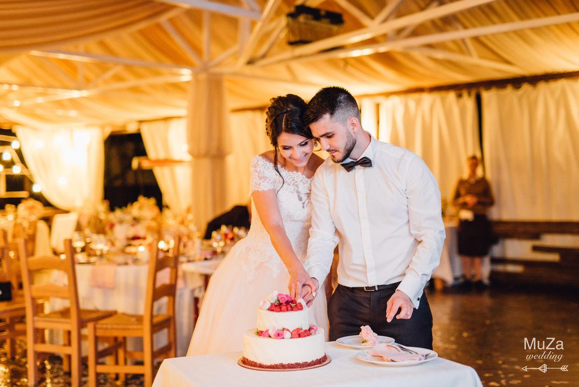 как красиво разрезать торт