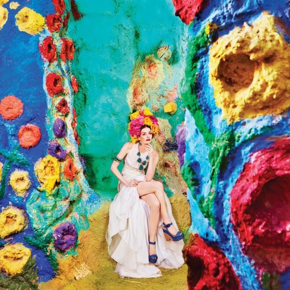 Самый оригинальный образ Лидии Херст для  'Martha Stewart Weddings' - очень вдохновил команду свадебного агентства MuZa-wedding