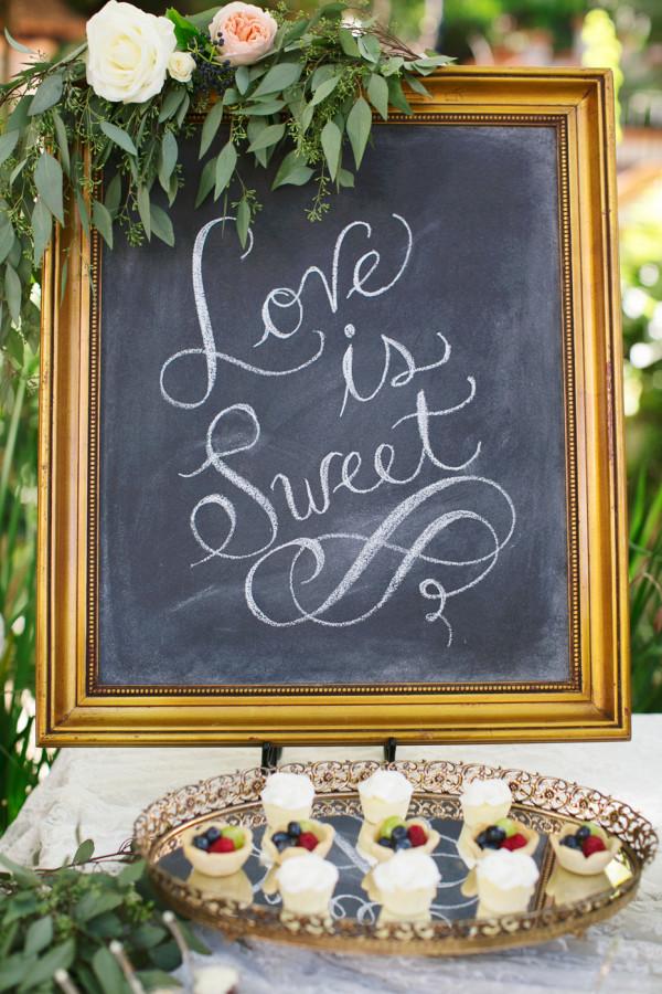 Грифельная доска. Тоже мило, романтично и красиво, особенно в сочетании с каллиграфией. Но тоже практически на каждой свадьбе.