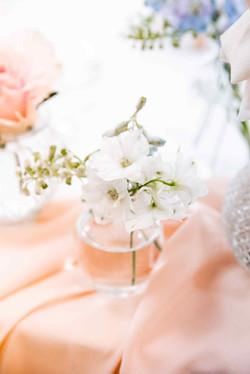 нежный свадебный декор, детали