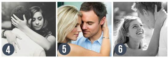 Идеальные позы для свадебной фотосессии. Расслабьтесь и обнимите жениха. Постарайтесь вложить в объятие всю нежность и любовь. Блог свадебного агентства MuZa-wedding, Киев