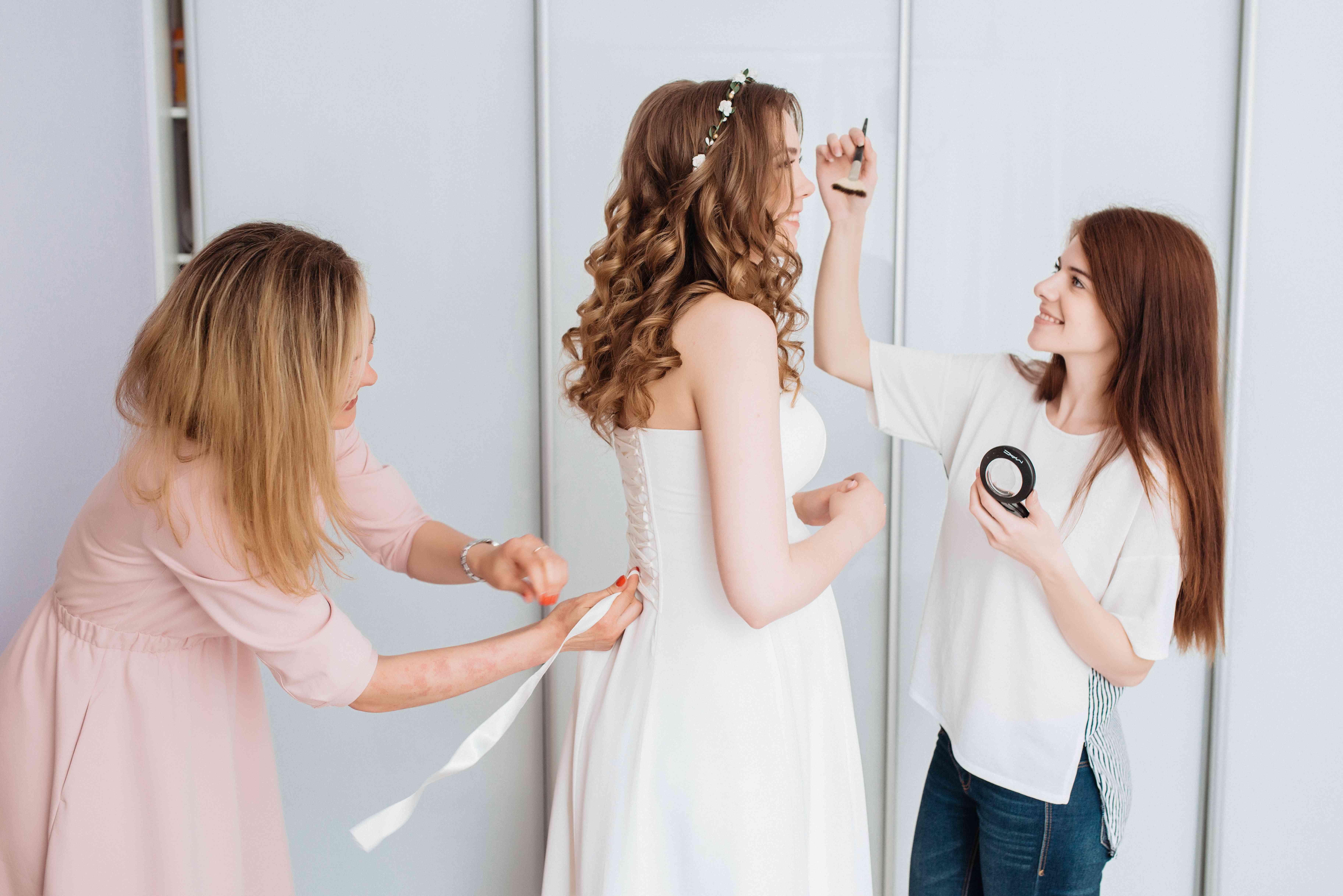 фотосессия утра невевсты Жени