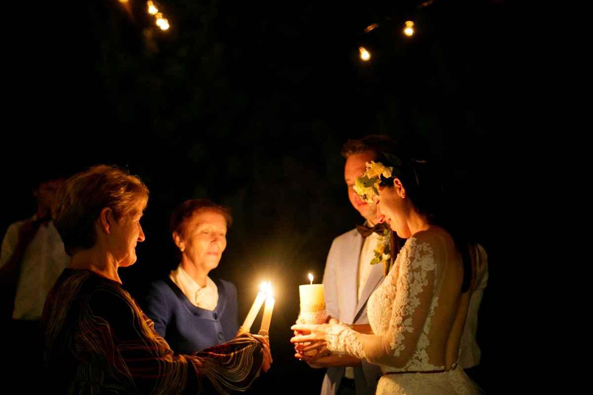 обряд семейный очаг свеча