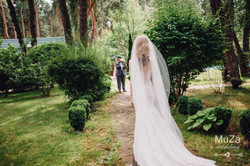выход невесты, first look