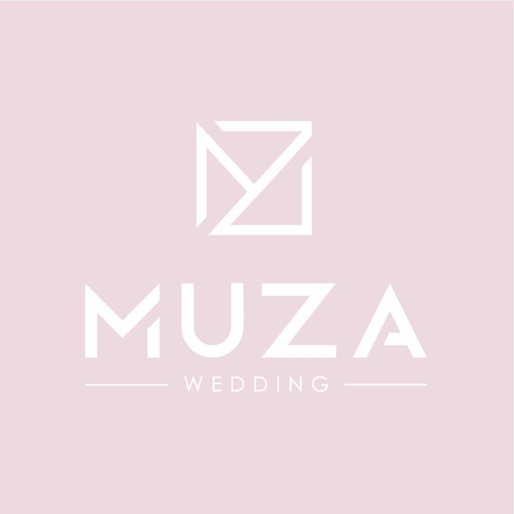 новый логотип свадебного агентства в Киеве MUZA-wedding, организация стильных, необычных свадеб в Украине