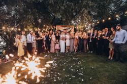 общее фото на свадьбе - это классно