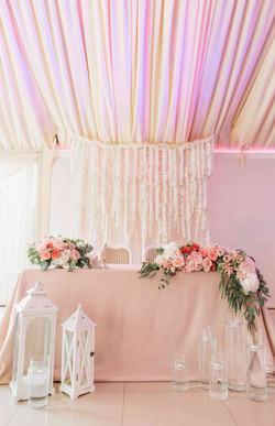 президиум стол молодоженов свадьба