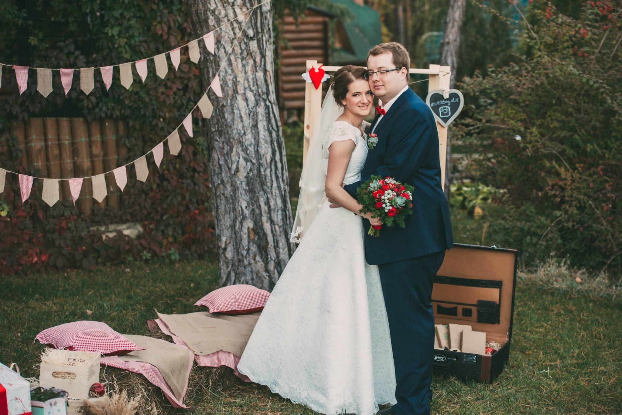 тематическая свадьба, стилизованая