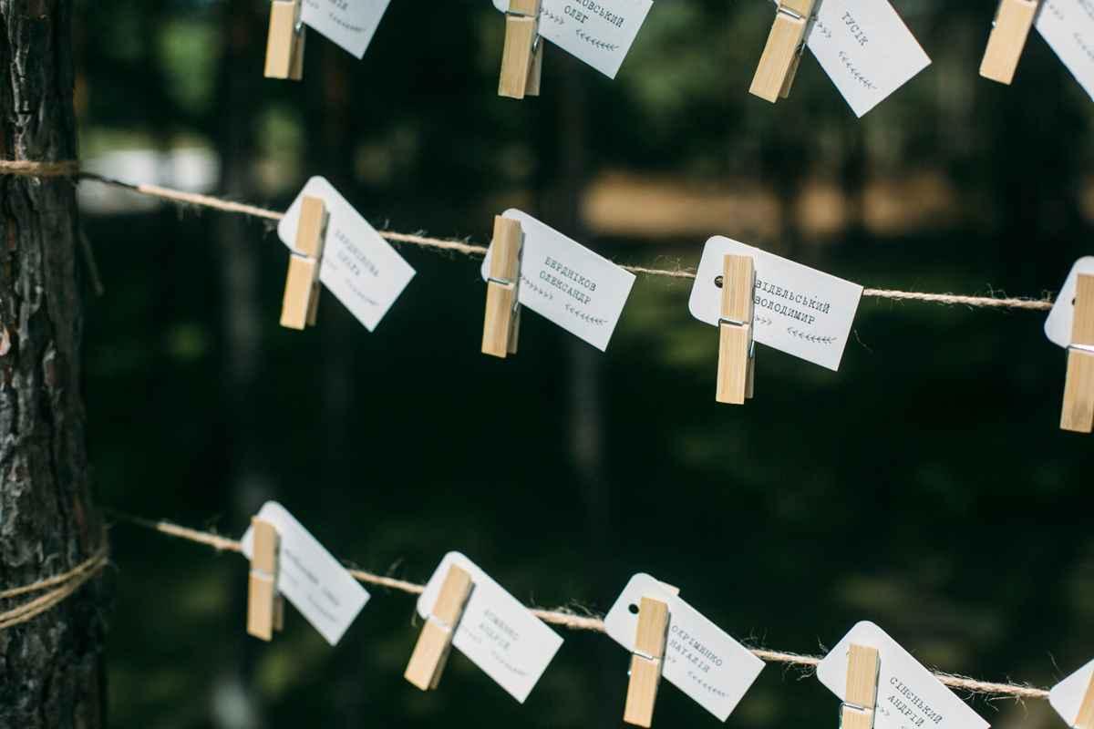 карточки, рассадка гостей, свадьба