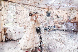 свадебный танец, метафан, конфетти