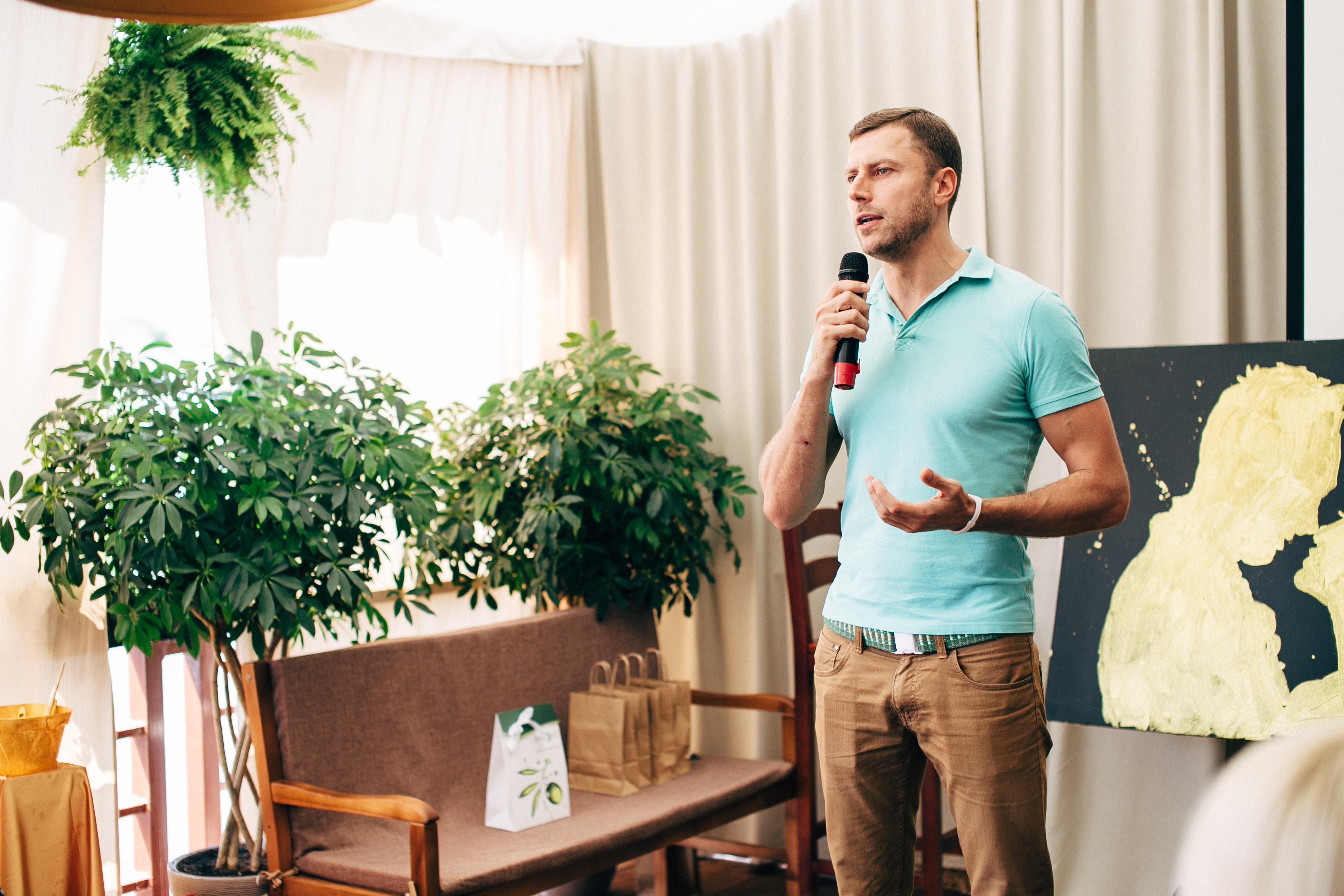 Богдан Трибой, ведущий, спикер