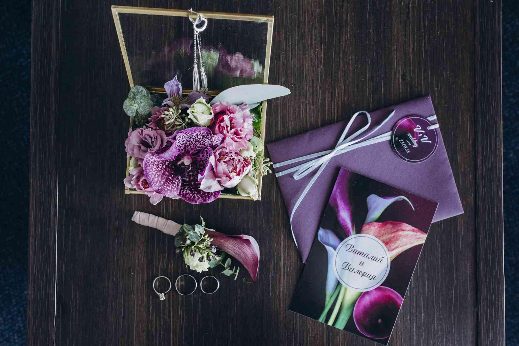 свадебные детали, пригласительный