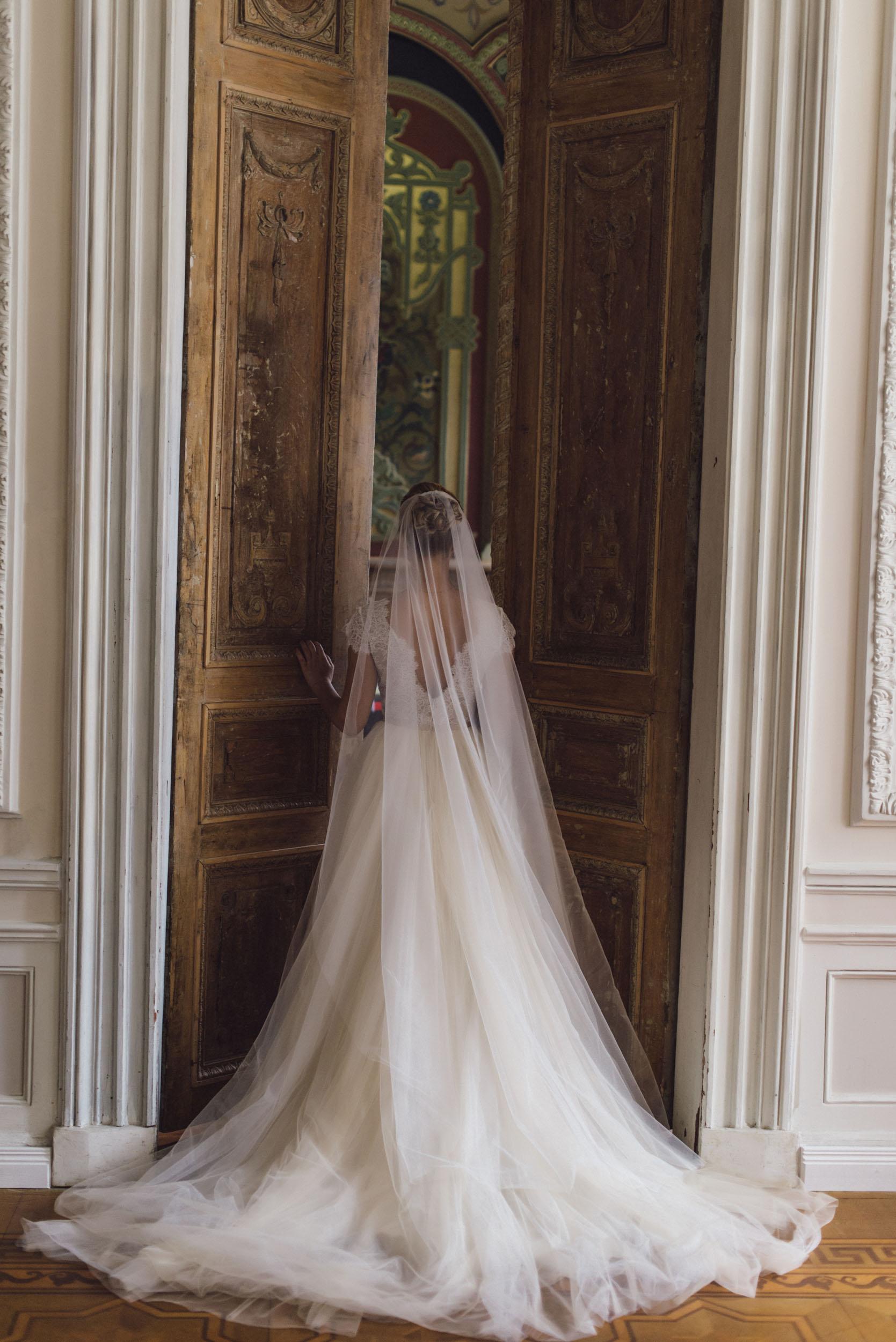 Свадебная фотосессия, невеста