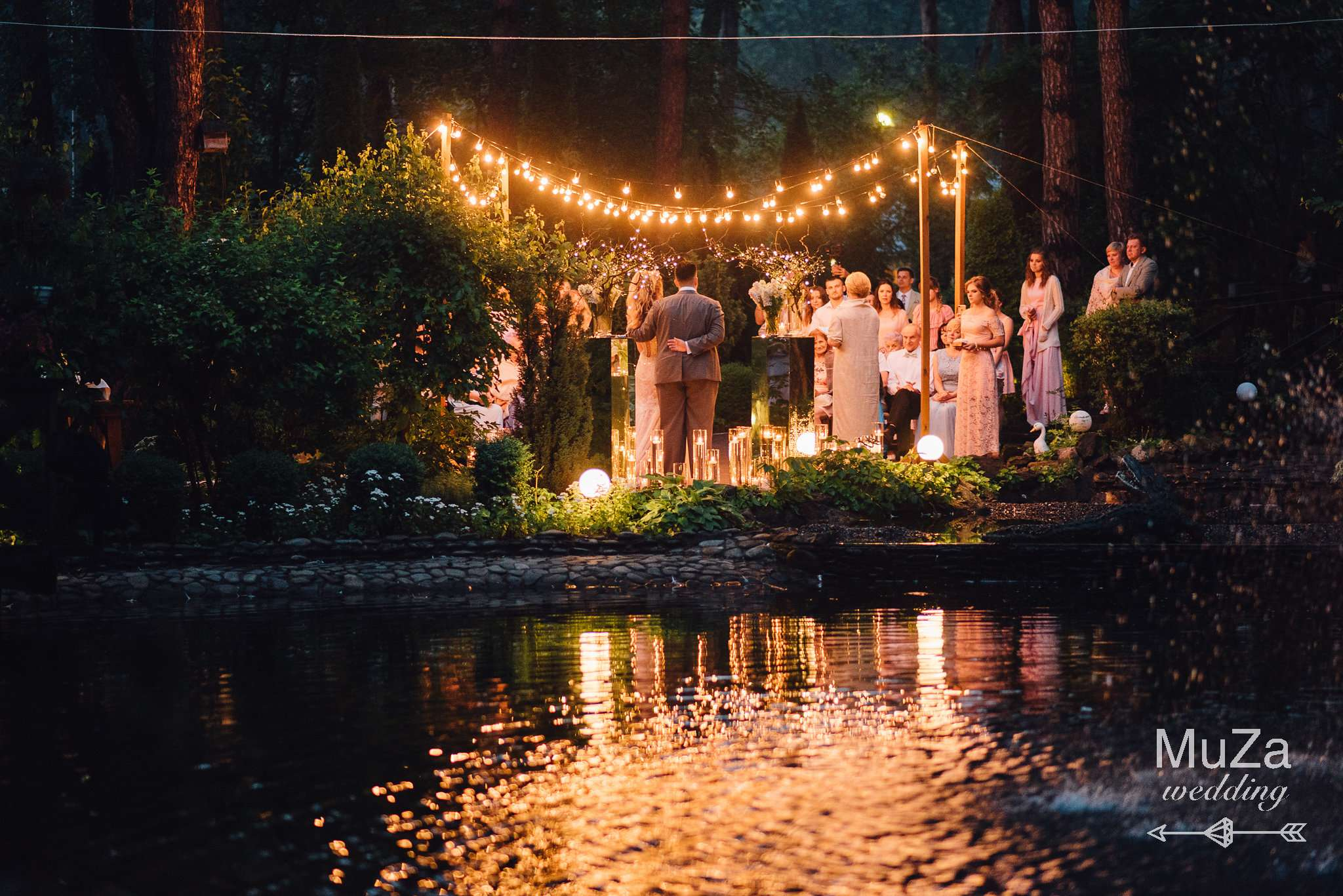 ночная церемония от MuZa-wedding