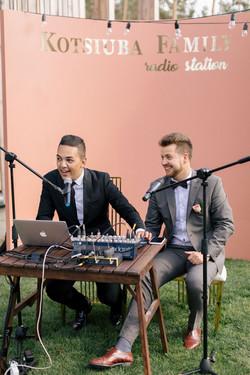 Радиостанция на свадьбе