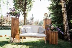диванчик на лаунж-зоне свадьба