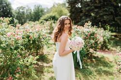 игривый образ невесты