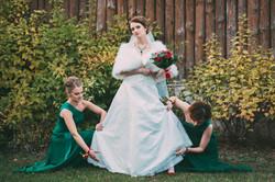 невеста и свидетельницы