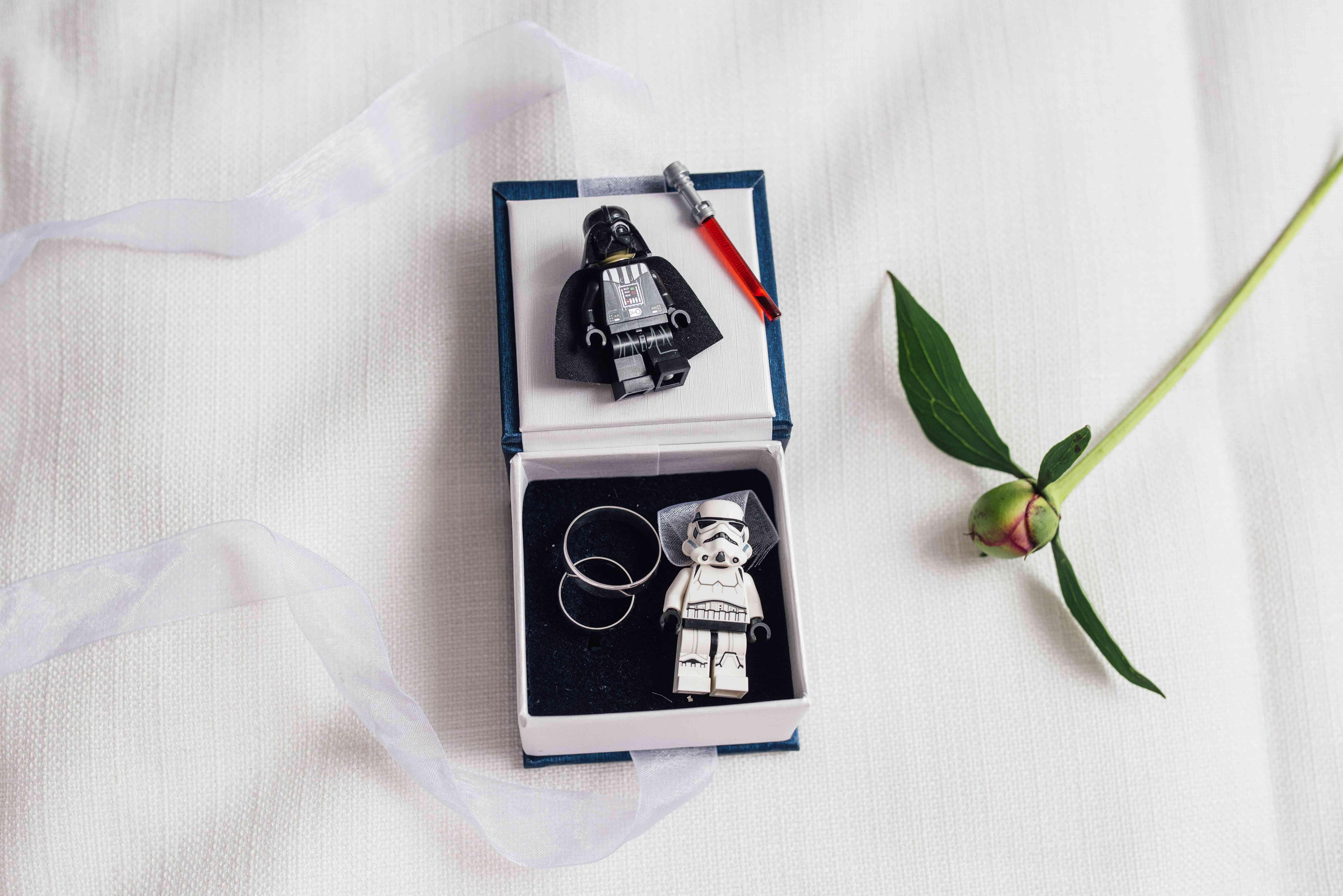 свадебные кольца, Дарт Вейдер