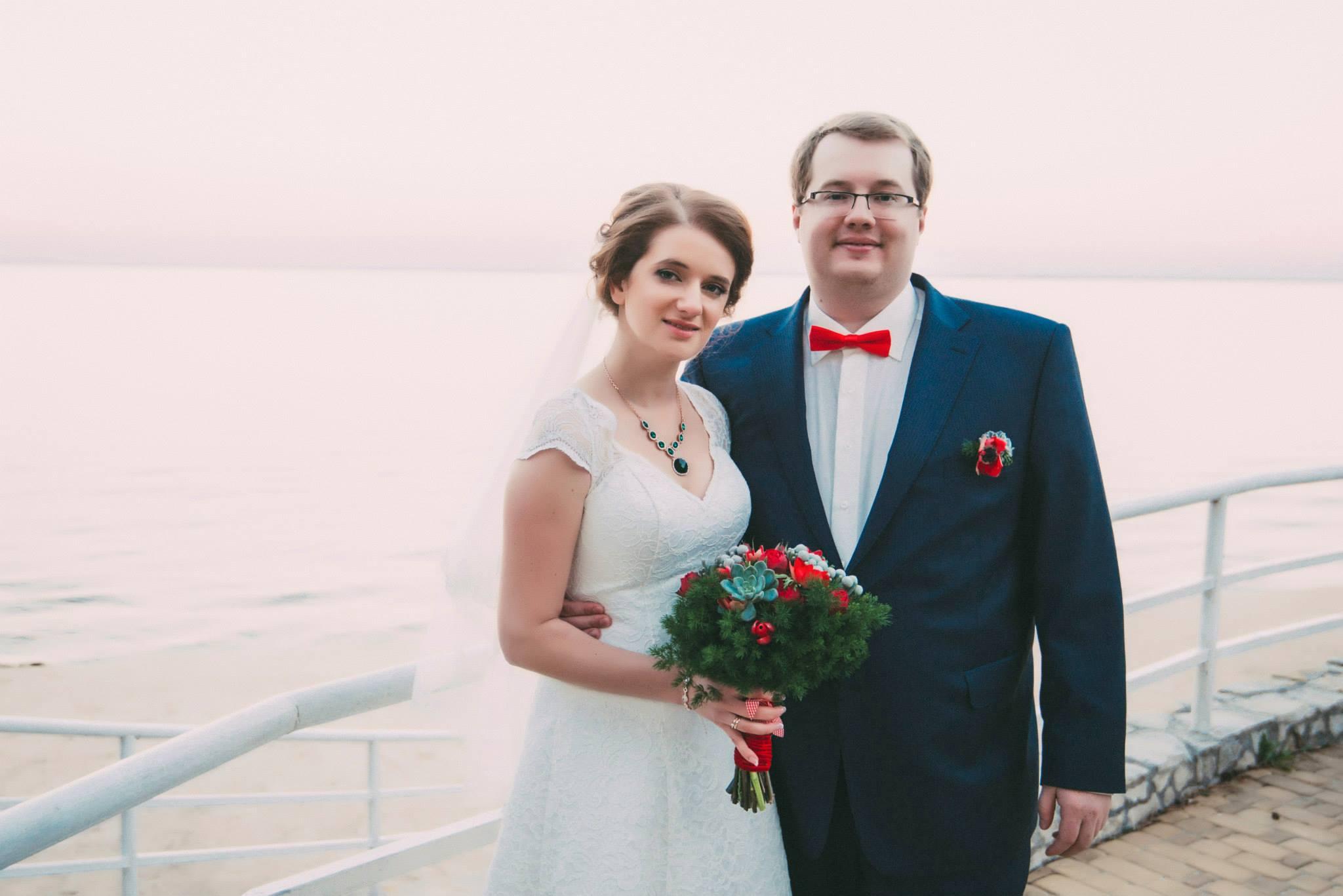 свадьба на берегу киевского моря