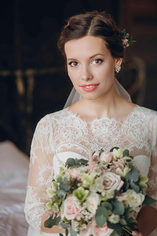 красива невеста Лидия, портрет