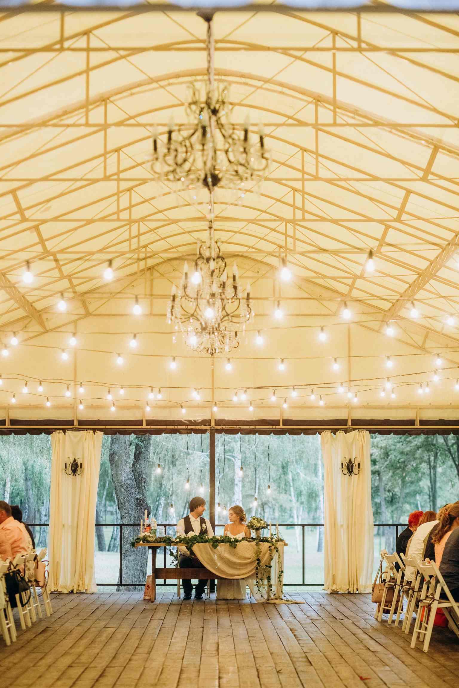 свадьба в шатре: плюсы и минусы
